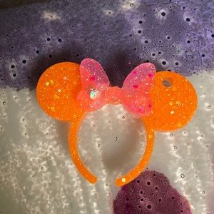 M Mouse ear keychain